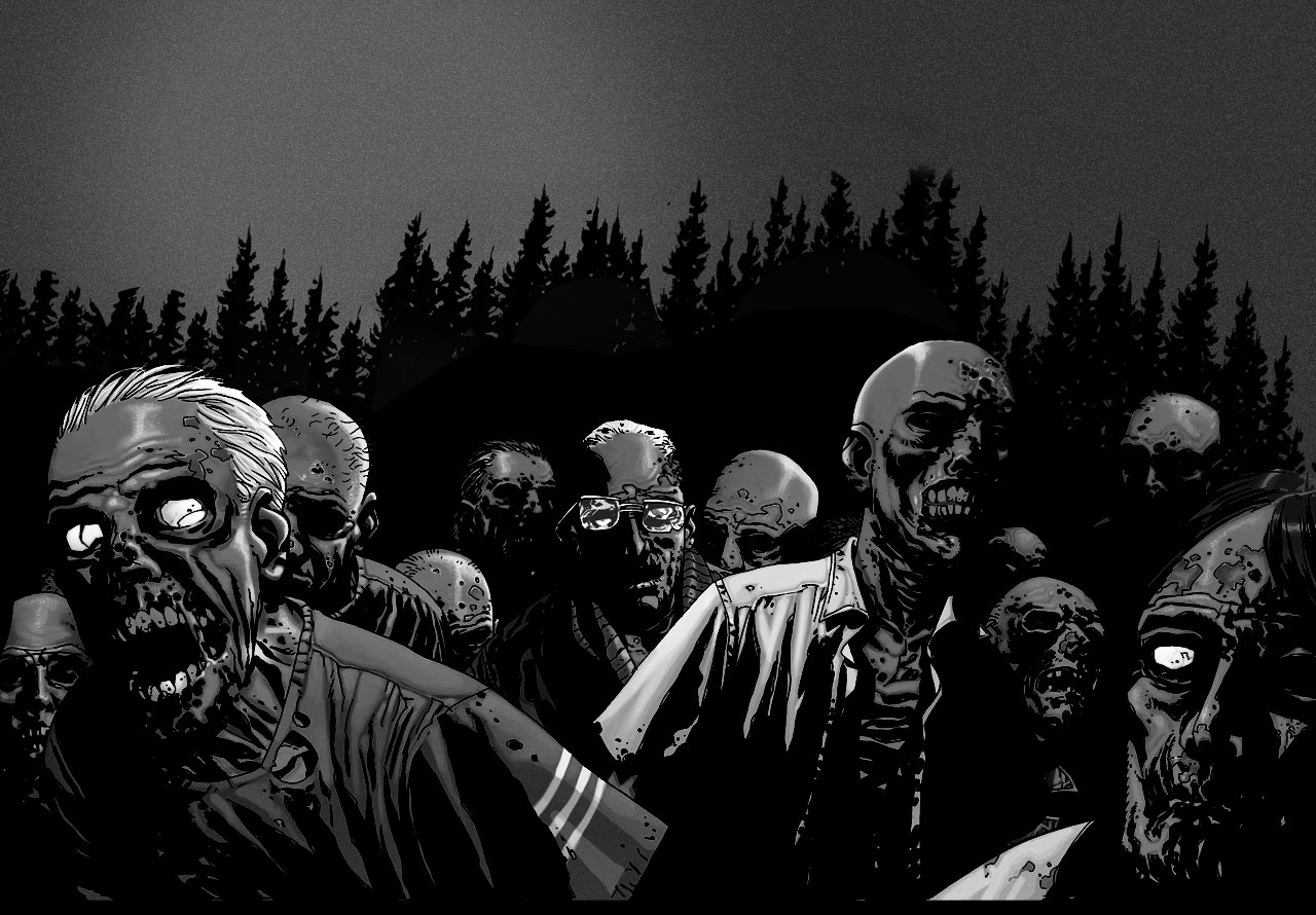 Zombie Wallpaper - Console Players